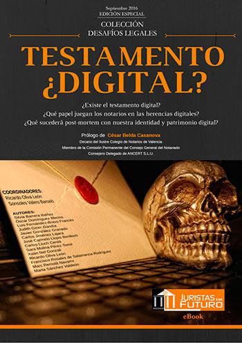 Participación en el libro ``Testamento Digital``